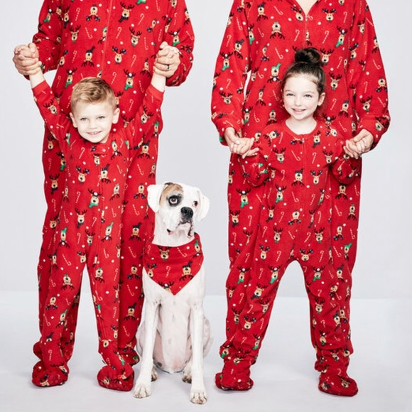 "8f6392a62c Macy s Other - ""Macy s Family PJs"" super soft holiday footsie pjs"